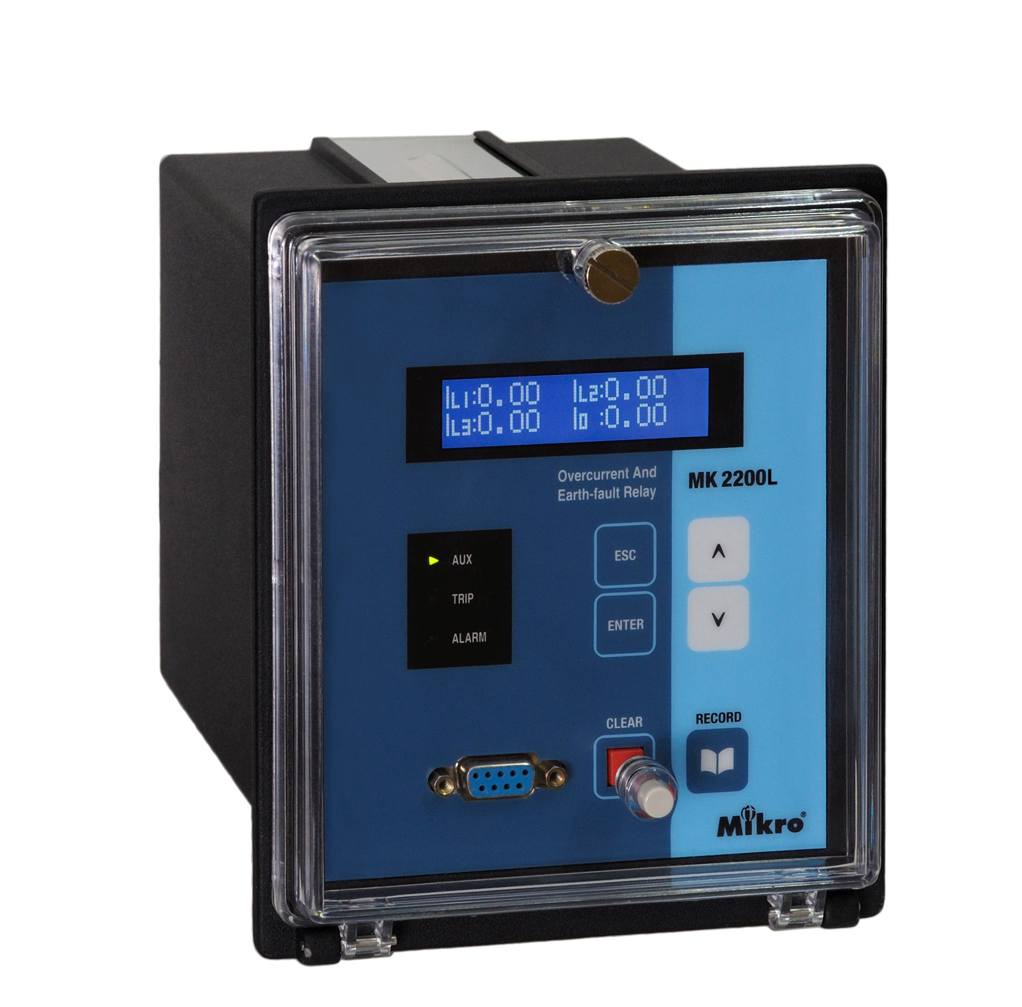 mikro MK 2200L combined overcurrent and earth-fault relay