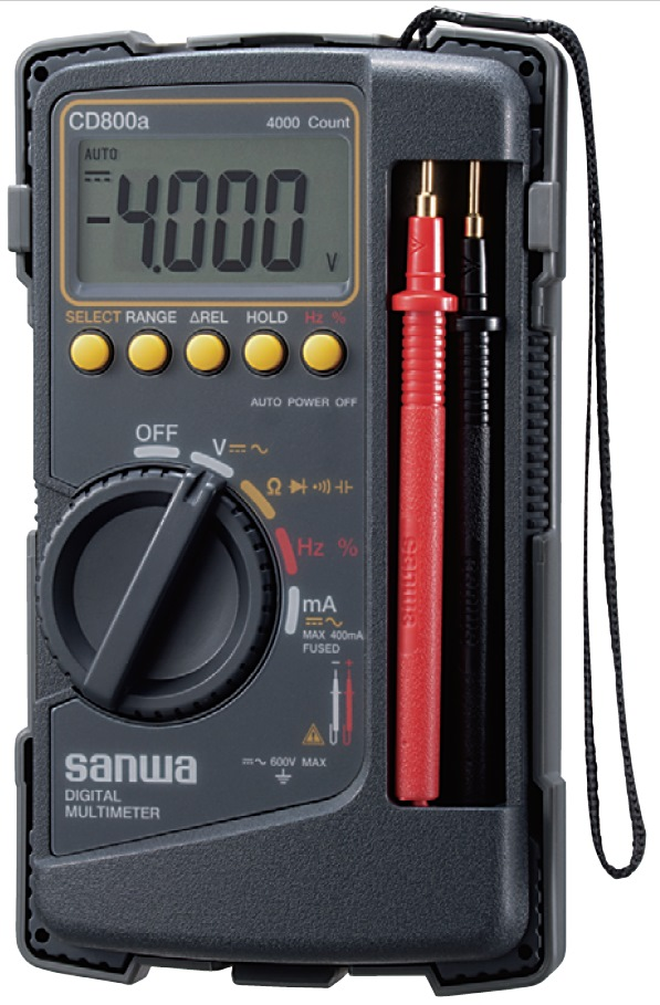 SANWA DIGITAL MULTIMETER CD800A