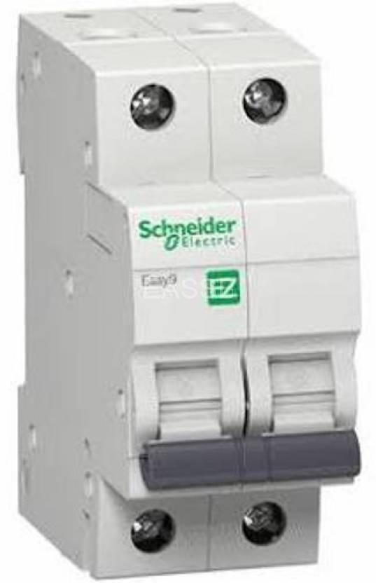 schneider MCB 2P 6A~63A