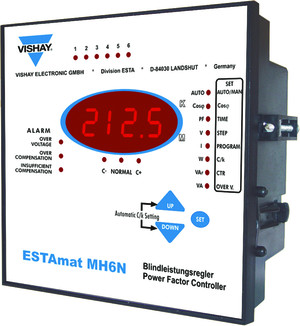 vishay POWER FACTOR REGULATOR.