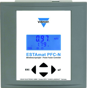 vishay POWER FACTOR REGULATOR